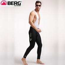 The real thing - Berg Cycles skin stretch Anti bact silicone pad straps riding pants