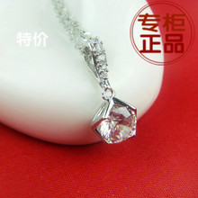 2014 is the pure heart in Europe and the necklace jewelry features short Swiss silver zircon female pendant MKC1762 optimal