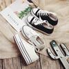 白色帆布鞋女鞋厚底百搭小白鞋学生鞋 低帮布鞋春夏内增高鞋