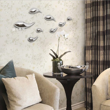 The sitting room wall decorative fish hang abstract sculpture Wall act the role ofing fish hanging pendant setting wall act the role of plating fish