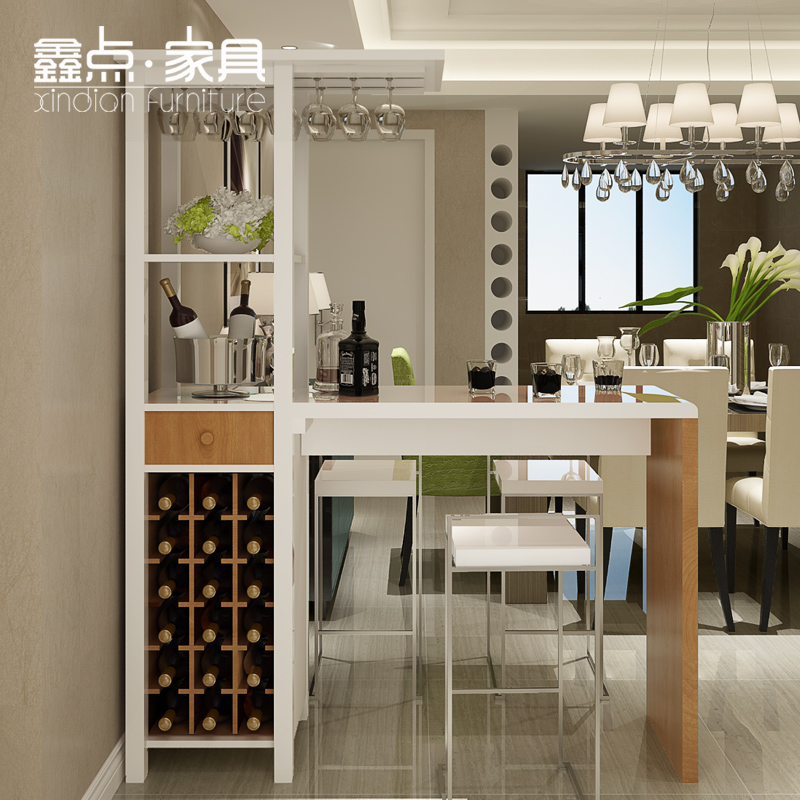 Xin Point Home Bar Furniture Counter Cabinet Partition Versatile Creative  Living Room Furniture Bar Tables B T103