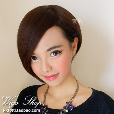 求不等式帅气的短发女生发型图片图片