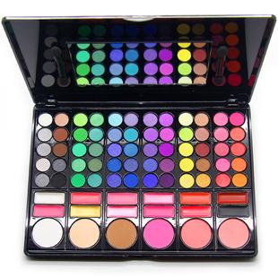 正品Coastal Scents 78色眼影盘大地色彩妆盘 彩妆套装全套组合盒
