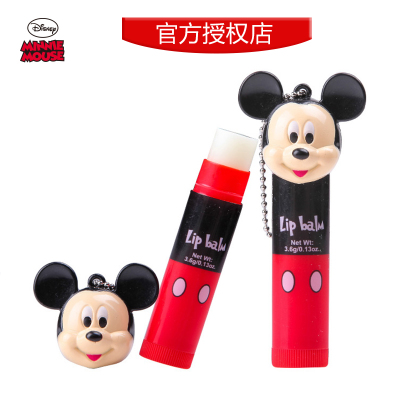Disney Children's cosmetic sunscreen lip balm lipstick lasting moisturizing makeup dance performances dedicated tool