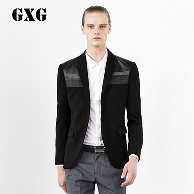 GXG Men Hitz 2014 men's fashion casual black suit jacket # 33101403