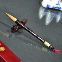 上海周虎臣毛笔正品[墨海腾波]长锋狼毫高档联笔屏笔书法行书篆书