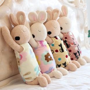 睡姿趴趴兔安抚兔子公仔睡觉抱枕大号毛绒玩具儿童陪睡玩偶布娃娃