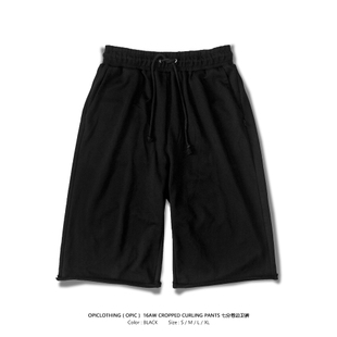 OPIC 16AW CROPPED CURLING PANTS 七分卷边卫裤