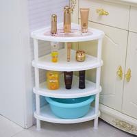 大小号浴室卫生间置物架 脸盆架 三角架 塑料整理架 收纳架 包邮