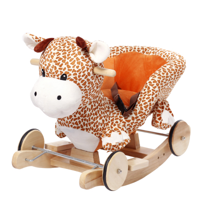 Meng Meng love baby toys birthday gift early childhood rocking horse rocking horse deer dual