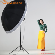 Haili makes the 185 cm dual-purpose umbrella softbox Reflective umbrella reflective softbox Umbrella softbox
