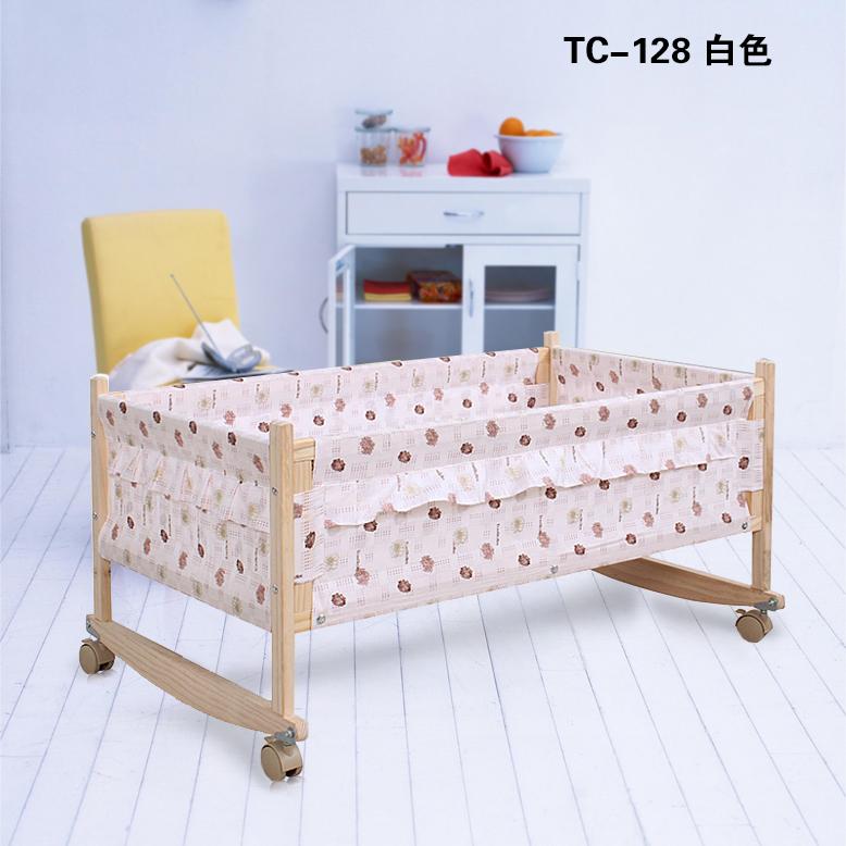 包邮小时候婴儿实木摇篮婴儿摇床多功能宝宝婴儿小摇床好孩子必备