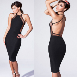 Sexy Backless Bodycon Dresses 2015 Summer Clubbing Party OL