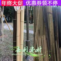 竹竿 篱笆瓜架支撑柱子栅栏片专用立柱旗竹杆跳舞竿毛竹室内装修