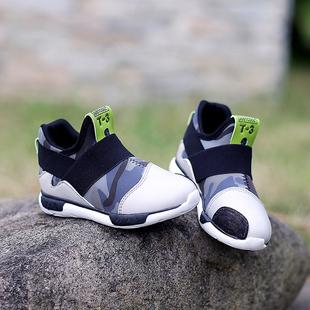 真皮潮鞋儿童鞋男童休闲鞋运动鞋2016春秋季新款小学生中童鞋特价