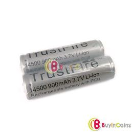 2x TF 14500 AA 3.7V Rechargeable Protected Battery #219