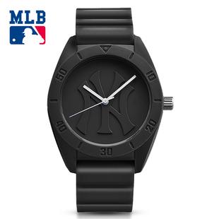 美国MLB美职棒时尚运动手表 情侣腕表 防水男女学生石英表 D5001