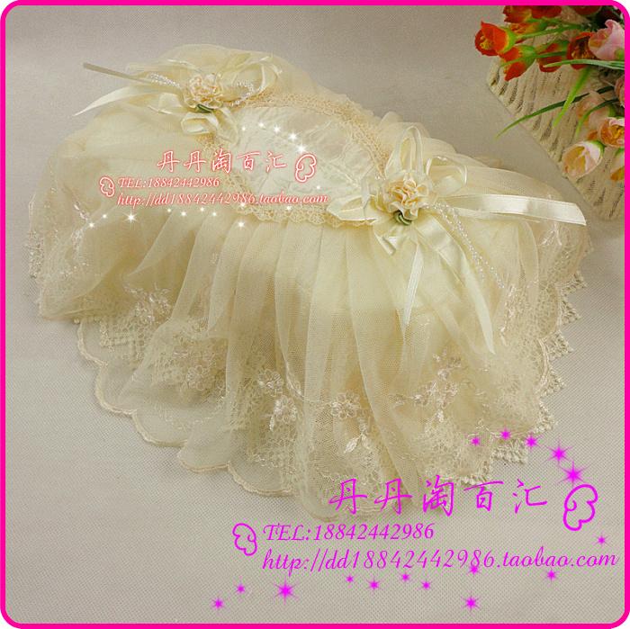 田园布艺蕾丝纸巾套抽纸盒罩车载纸巾盒套汽车用饰装饰用品