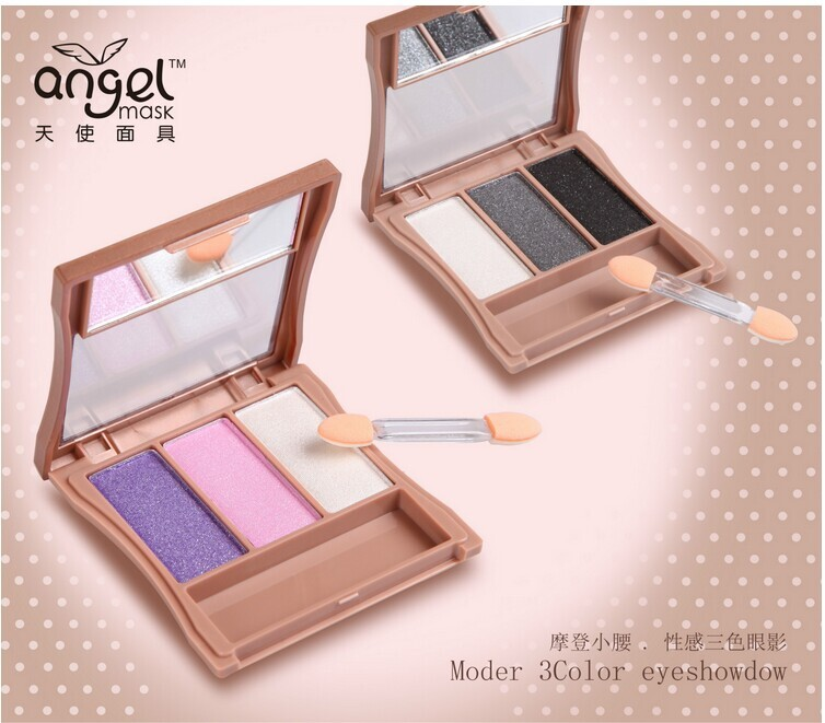 正品Angel Mask天使面具7813摩登小腰.性感三色眼影