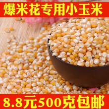 爆花小玉米 小玉米粒爆米花专用原料 新货爆裂小玉米500g