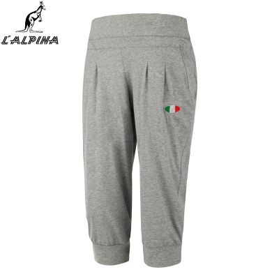 lalpina Alpena Kangaroo new outdoor sports Ms. knit pant Slim was thin thin shorts