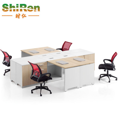 When Ren boss table desk office furniture desk manager sets new fashion single cabinet office computer tables
