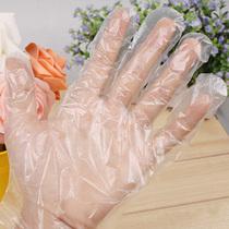 一次性手套PE塑料加厚1g透明批发 餐饮美发医用吃龙虾烧烤食品店