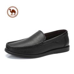 骆驼牌男鞋 秋季舒适套脚鞋 男皮鞋轻便驾车鞋子男乐福鞋