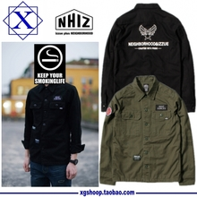 Shawn yue NHIZ tooling jacket New beginning NBHD menswear jacket coat Tide brand military jacket