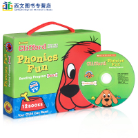 英文原版绘本Clifford Phonics Fun Pack4 大红狗Big Red Dog童书