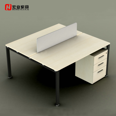 Hongye four office furniture desk staff Taiwan screen card bit stylish combination Screens station TK-005