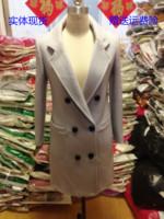 秋冬新款茧型大衣羊毛呢子外套女学院韩版修身显瘦加厚中长款风衣