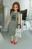 dorandoran vest dress monster high doll clothes to wear