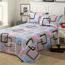 Package mail bedding single double cotton twill not ball cotton sheets sheeting clouds pavilion