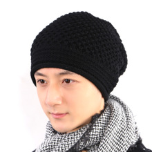 Han edition tide cap hat hat season warm man outdoor winter hats knitted cap sleeve head caps on sale bag mail