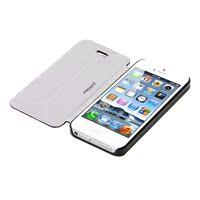 品胜 iphone5c一体式超薄保护套 苹果5C前后翻盖支架保护套后壳