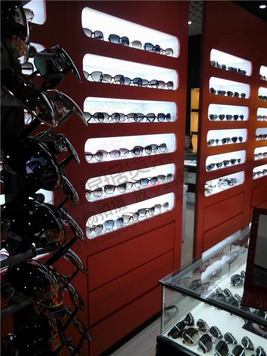 高档眼镜货架眼镜展柜制作商场展架烤漆柜台眼镜展示柜眼镜柜台