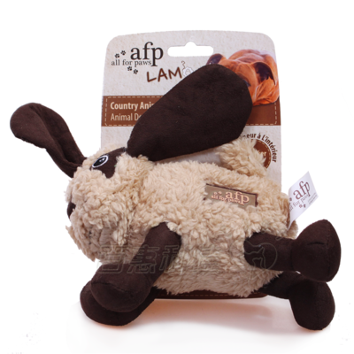 AFP series lamb dog toys pet toys - cute running animals (dog / sheep / horse hair mix)