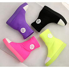 In the summer of 2015 colorful candy colors canvas shoes women flat for comfortable shoes/high fashion leisure boots, sandals