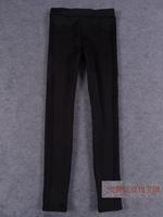 韩国全智贤明星同款修身显瘦弹性加绒加厚运动打底裤 女