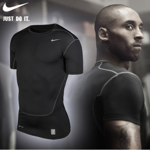 Basketball wear tights short sleeved male soccer stretch vest primer running fitness training