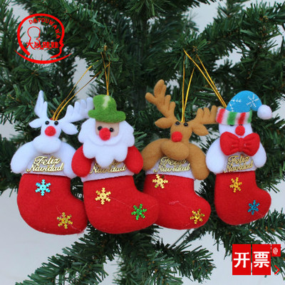 big christmas socks christmas decorations hang hang act the role of props christmas gifts wholesale