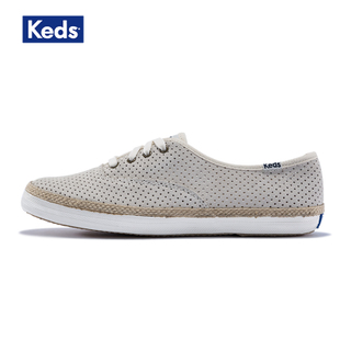 Keds女 CH PERF SUEDE W/ JUTE 板鞋 WH54534 WH54535