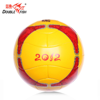 Pisces Changhong FH582 yellow soccer ball on the 5th string bag PU synthetic leather send / gas needle