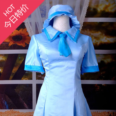 Masters VOCALOID Hatsune miku blue outing clothes cos clothing custom