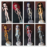 Genuine Mattel bulk monster monster monster high school high school spirit doll ferritic lead