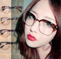 2015新款韩版潮人金属半框男女款眼镜框个性大脸眼镜架配近视框架