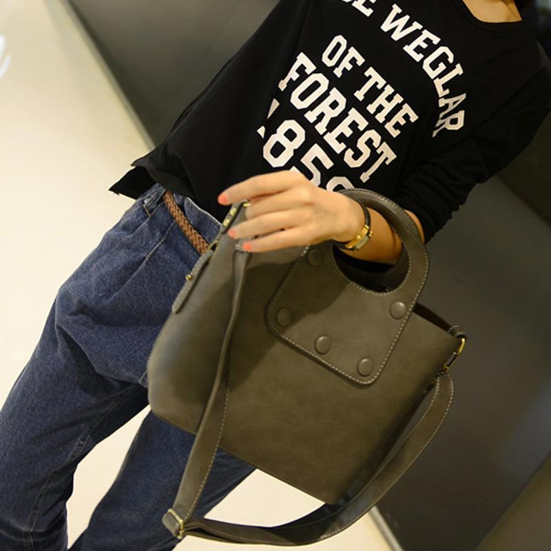 Сумка Обуви мешок цвета Новая волна женского корейских моды сумки плеча мешки Диагональ f30923