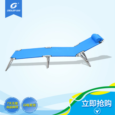 T Chong Yuet adjustable backrest folding camp bed casual office lunch nap bed beach bed