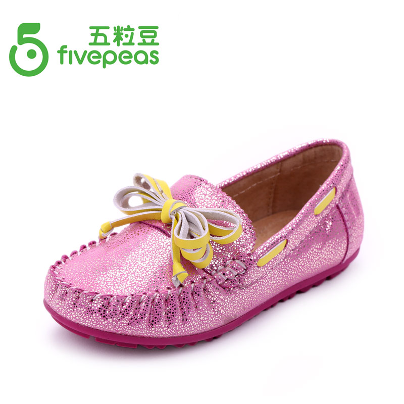 Genuine leather shoes for girls also mothers